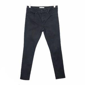 Levi's 311 Shaping Skinny Black Jeans size 30